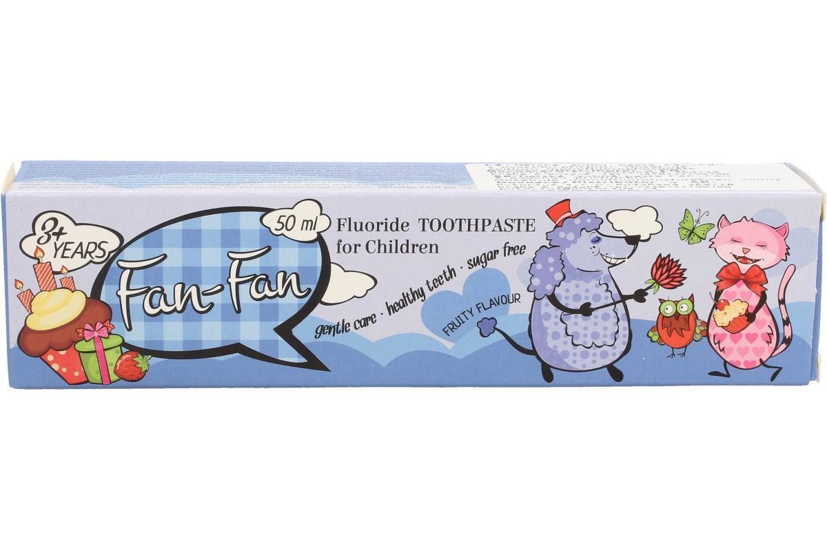 Dětská zubní pasta Fan-Fan 50 ml