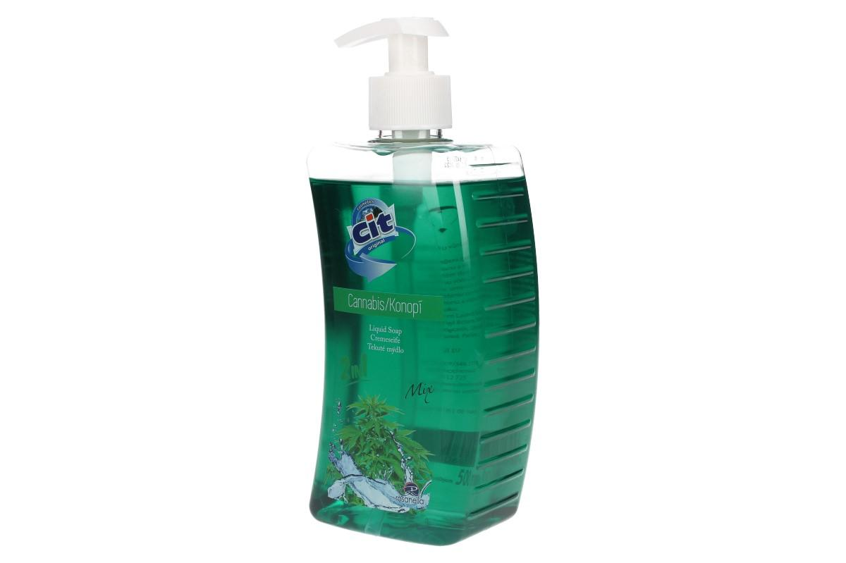 Cit tekuté mýdlo 500ml Cannabis 2v1