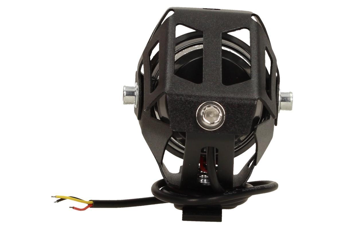 Přídavné LED čočkové světlo na motorku Laser Gun 10W