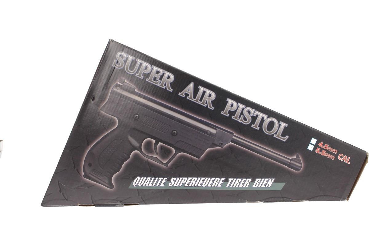 Vzduchová pistole jednoruční černá