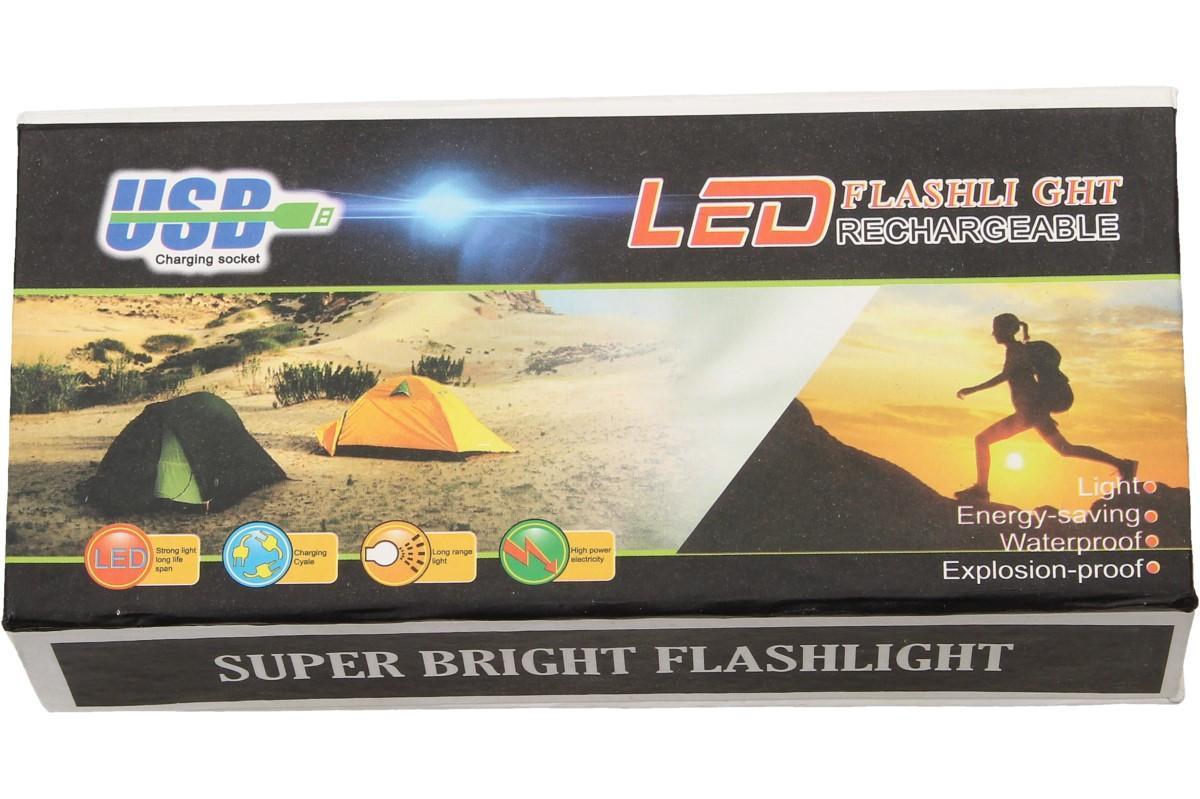Superjasná LED kapesní svítilna s klipem