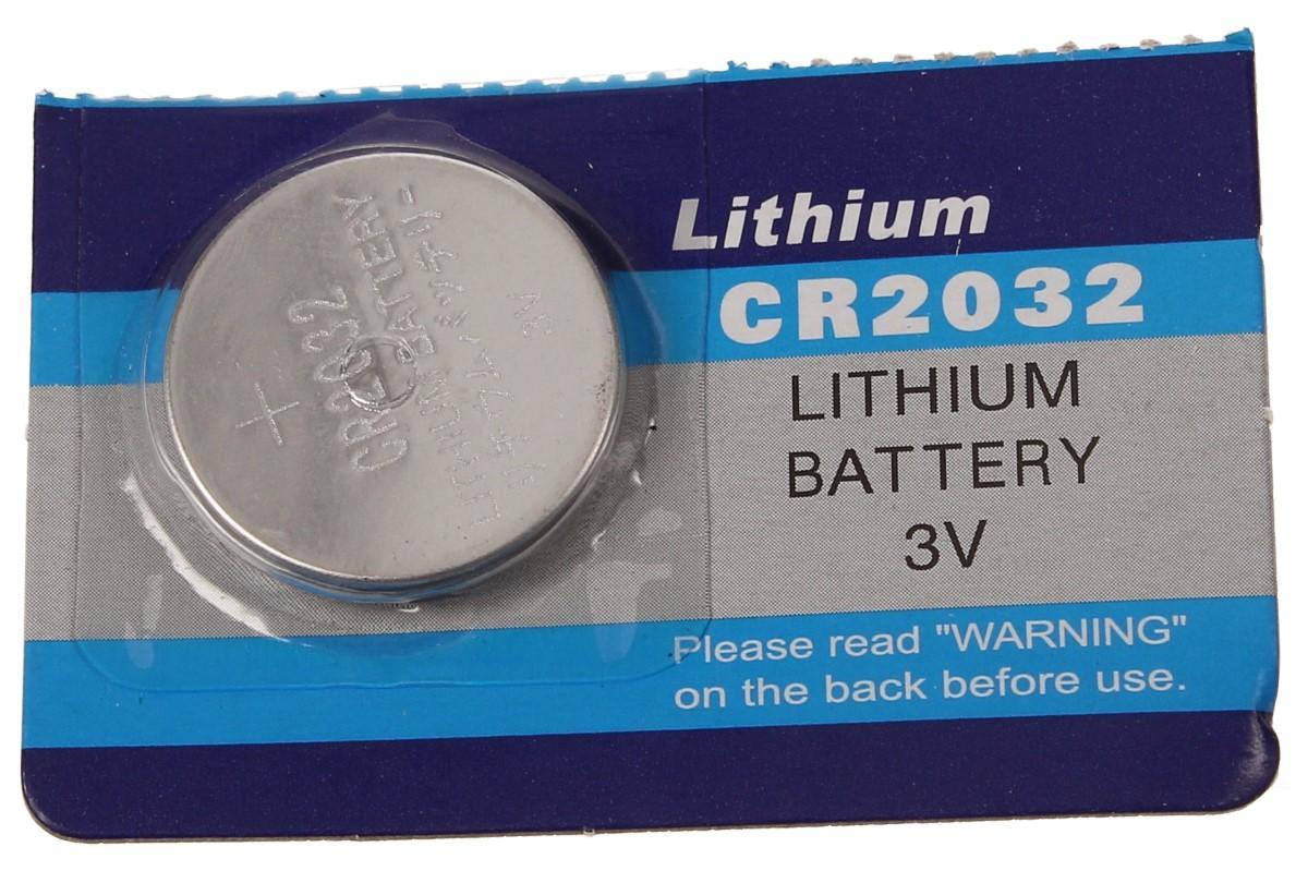 Knoflíková baterie CR2032 3V 1 kus