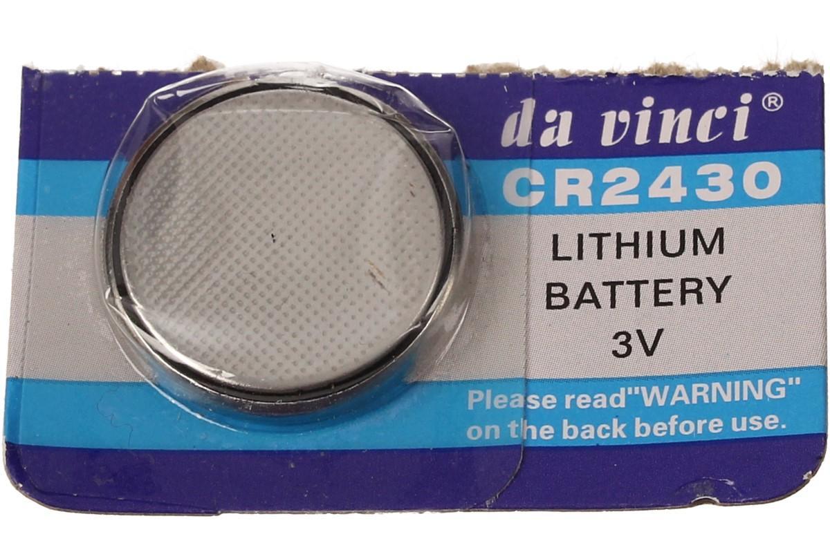 Knoflíková baterie CR2430 3V 1 kus