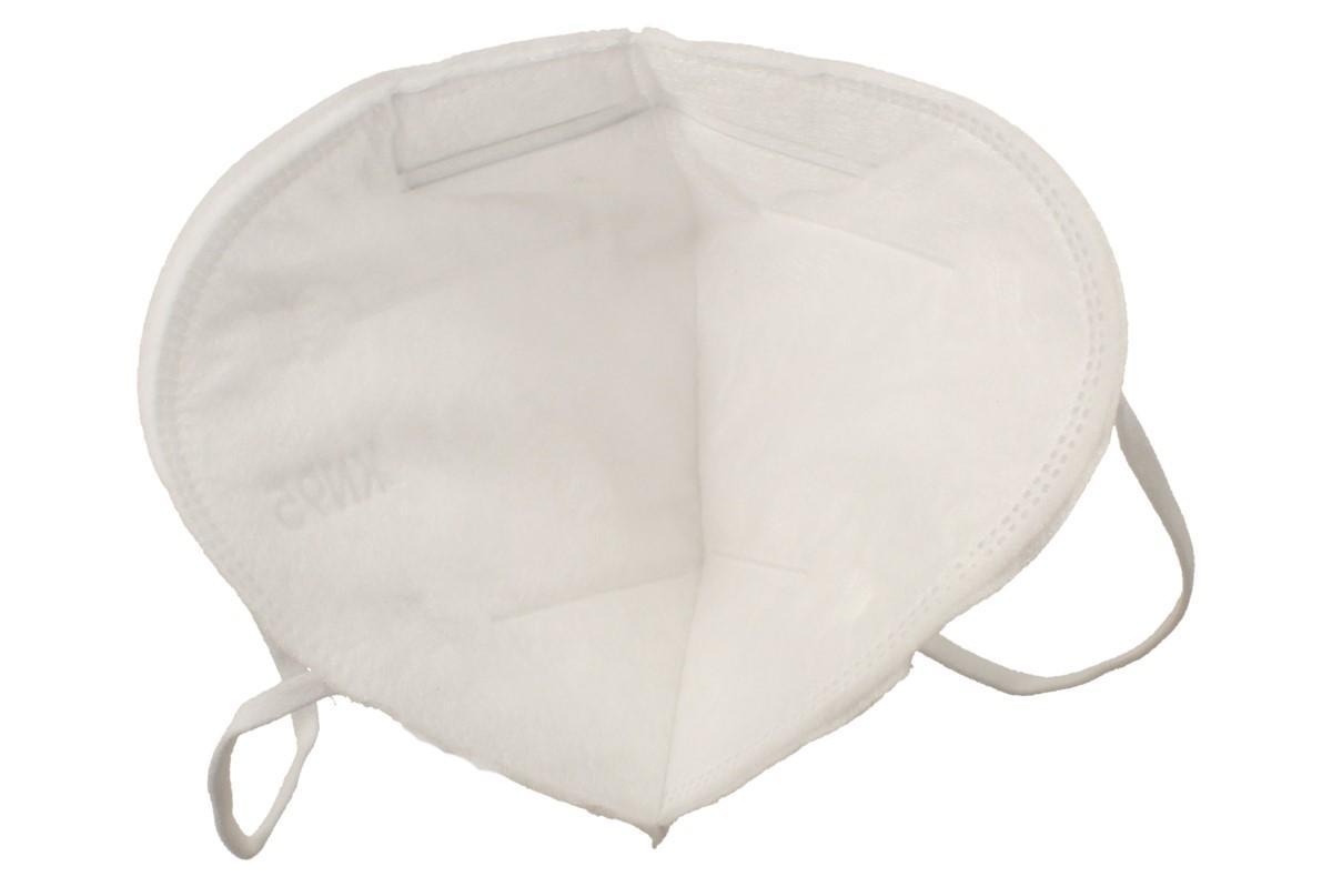 Respirátor FFP2/KN95, respirační rouška bílá