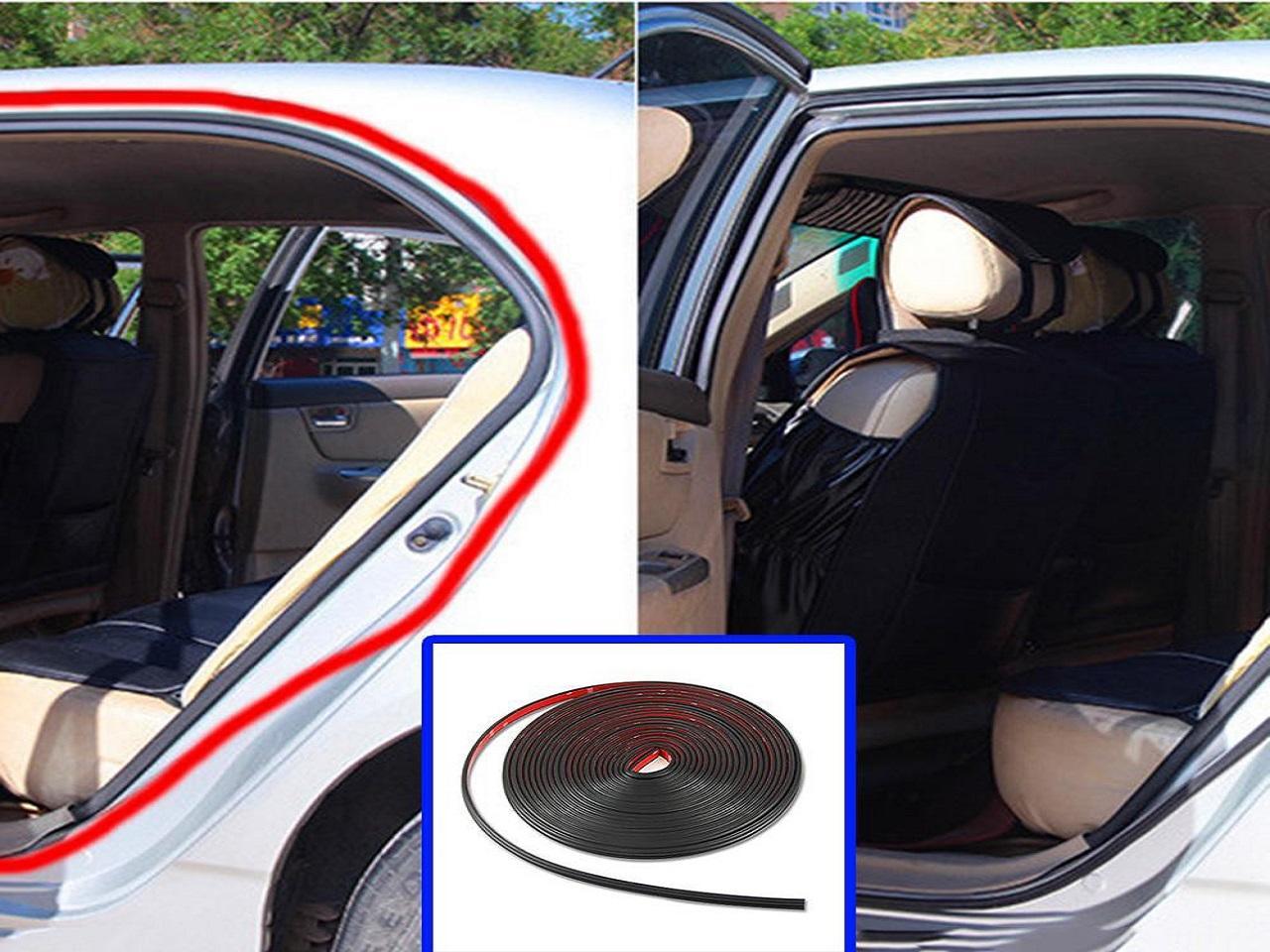 Gumové těsnící pásky do auta 2x65 cm 8068