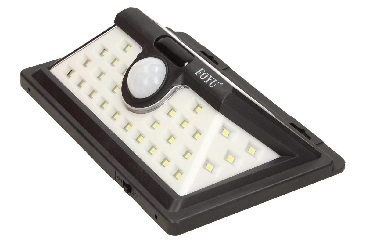 LED solární světlo s pohybovým čidlem FO-TA004 30W