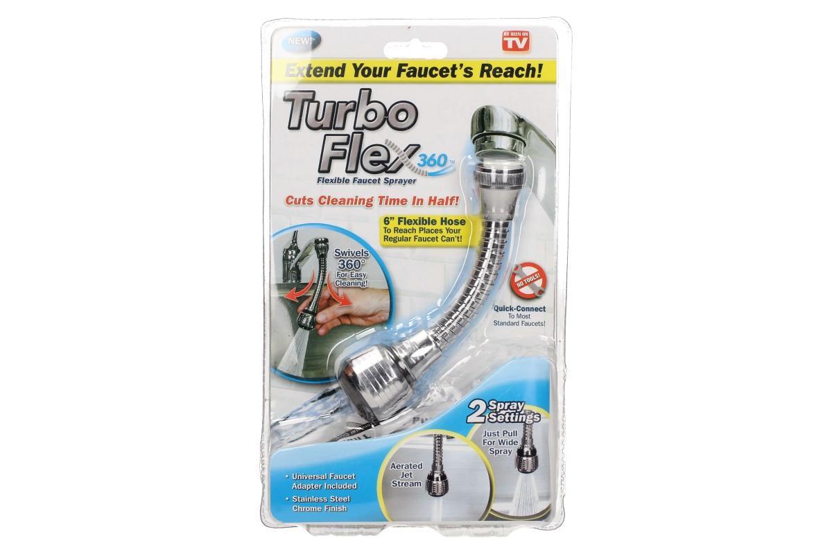 Spořič vody s nerezovým prodloužením Turbo Flex