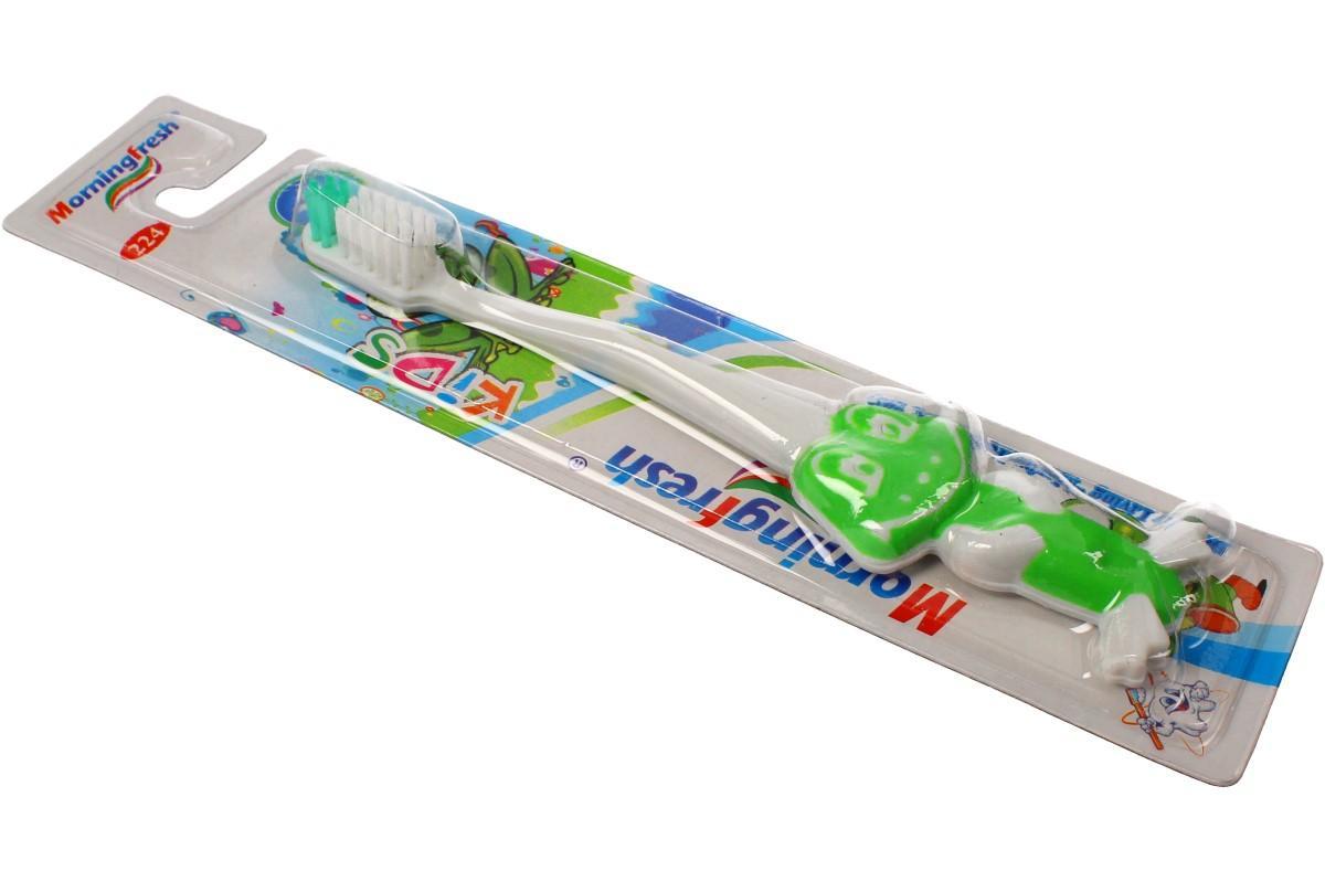 Dětský zubní kartáček žába