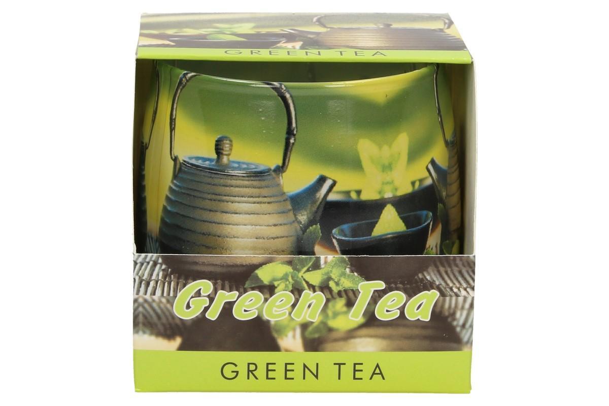 Vonná svíčka zelený čaj