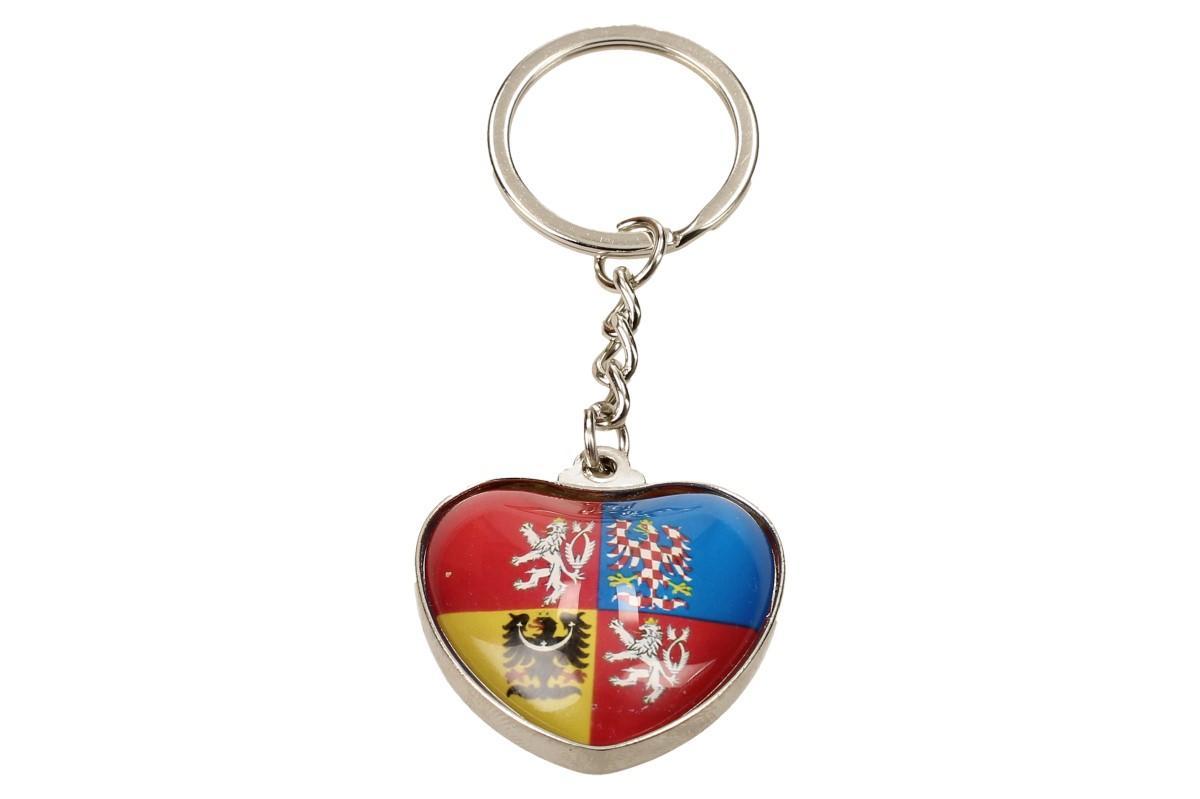 Klíčenka srdce státní znak