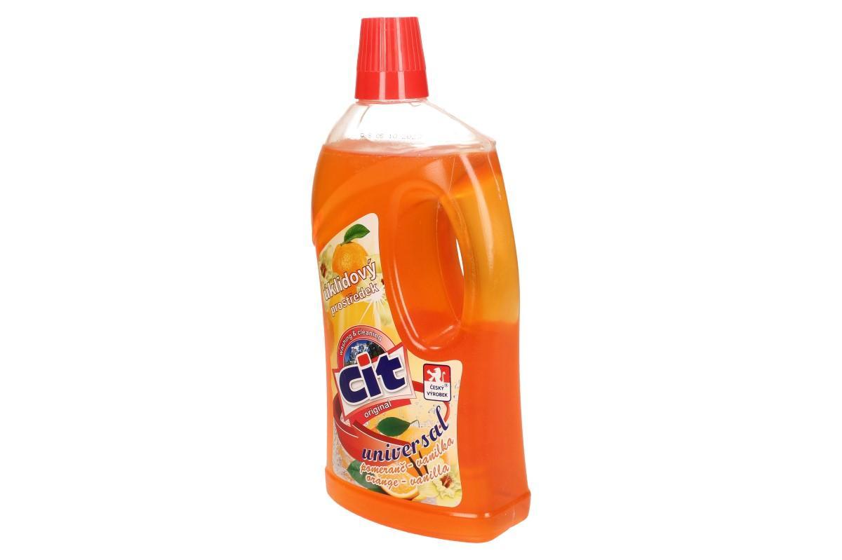 CIT univerzální úklidový prostředek 1L pomeranč-vanilka