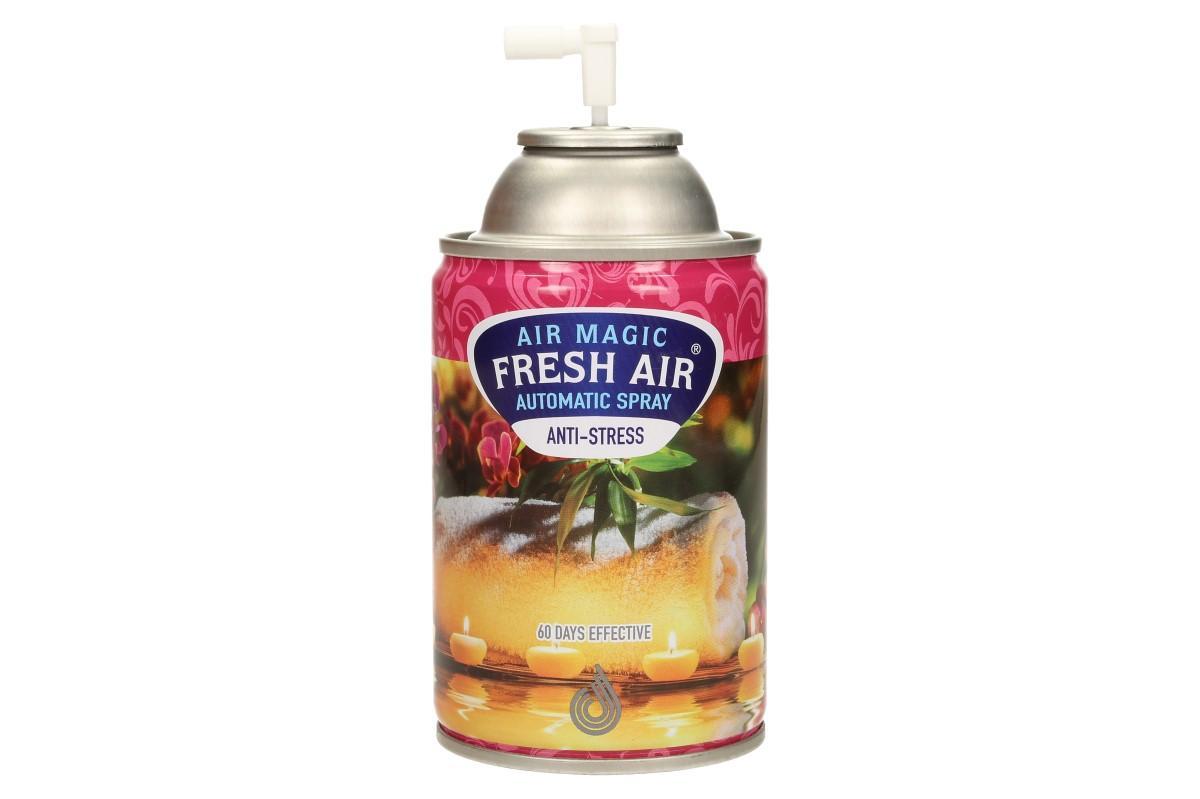 FRESH AIR náplň do automatického osvěžovače vzduchu 260ml - Anti Stress