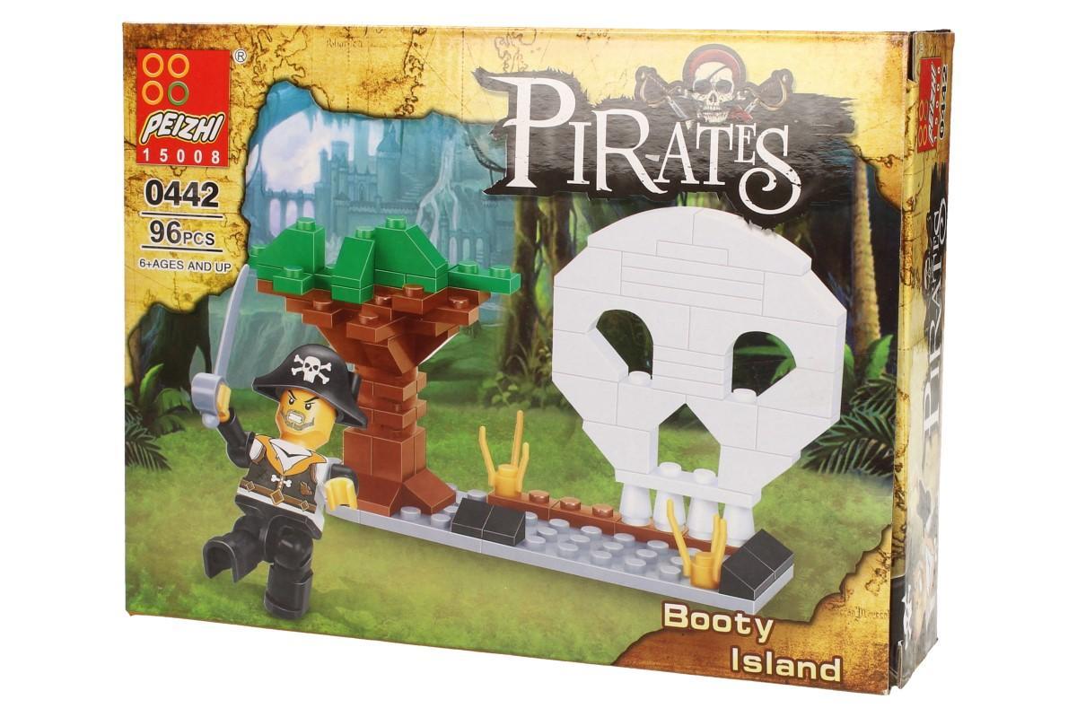 Stavebnice Peizhi Pirates Booty Island 0442