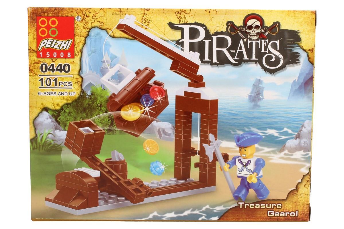 Stavebnice Peizhi Pirates Treasure Gaarol 0440