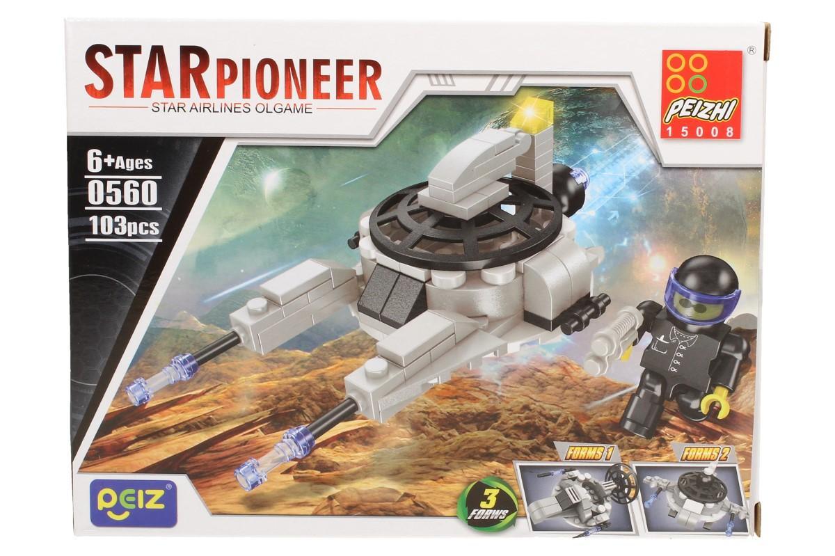 Stavebnice Peizhi Star Pioneer 0560