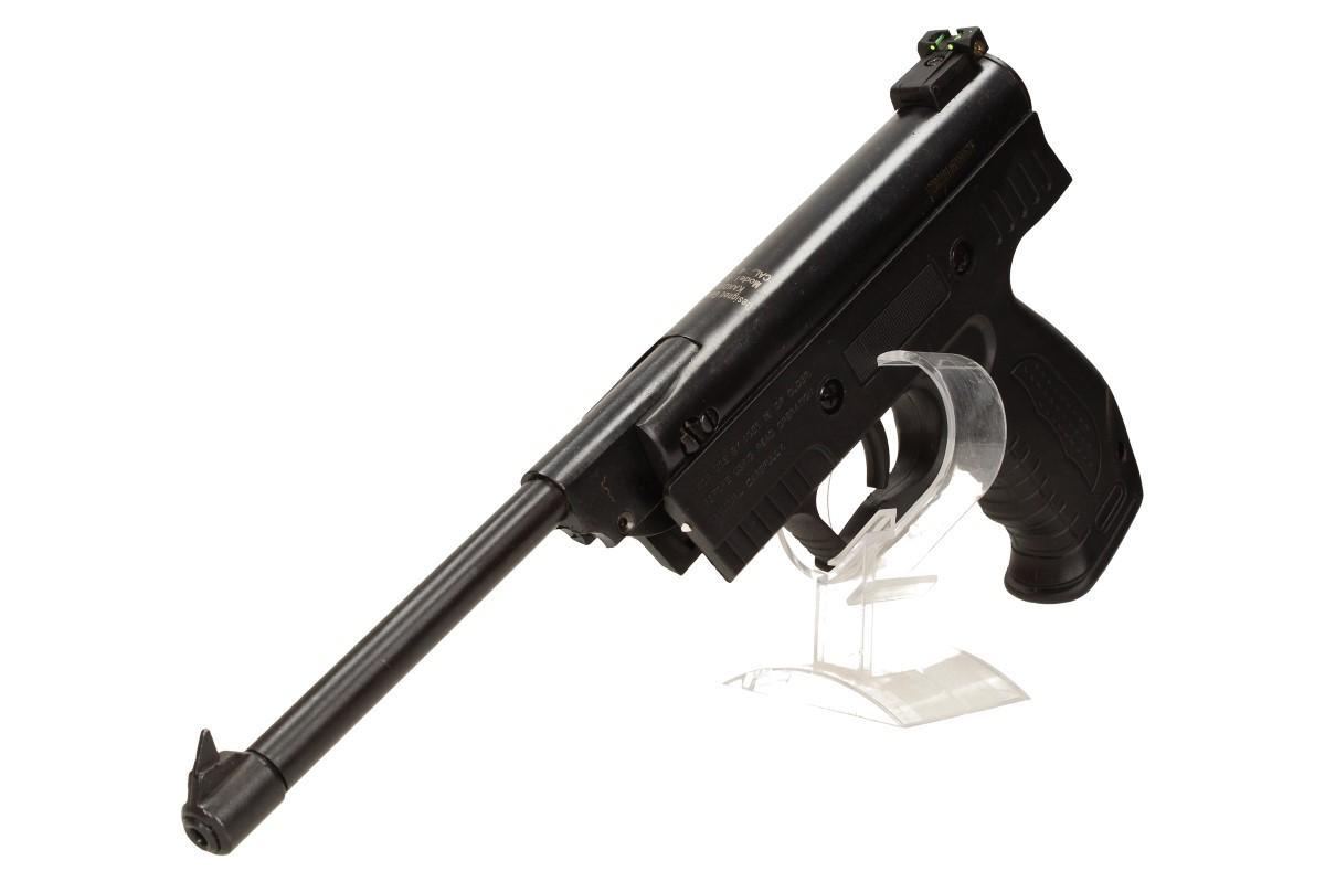 Vzduchová pistole jednoruční černá (ráže 4,5mm)