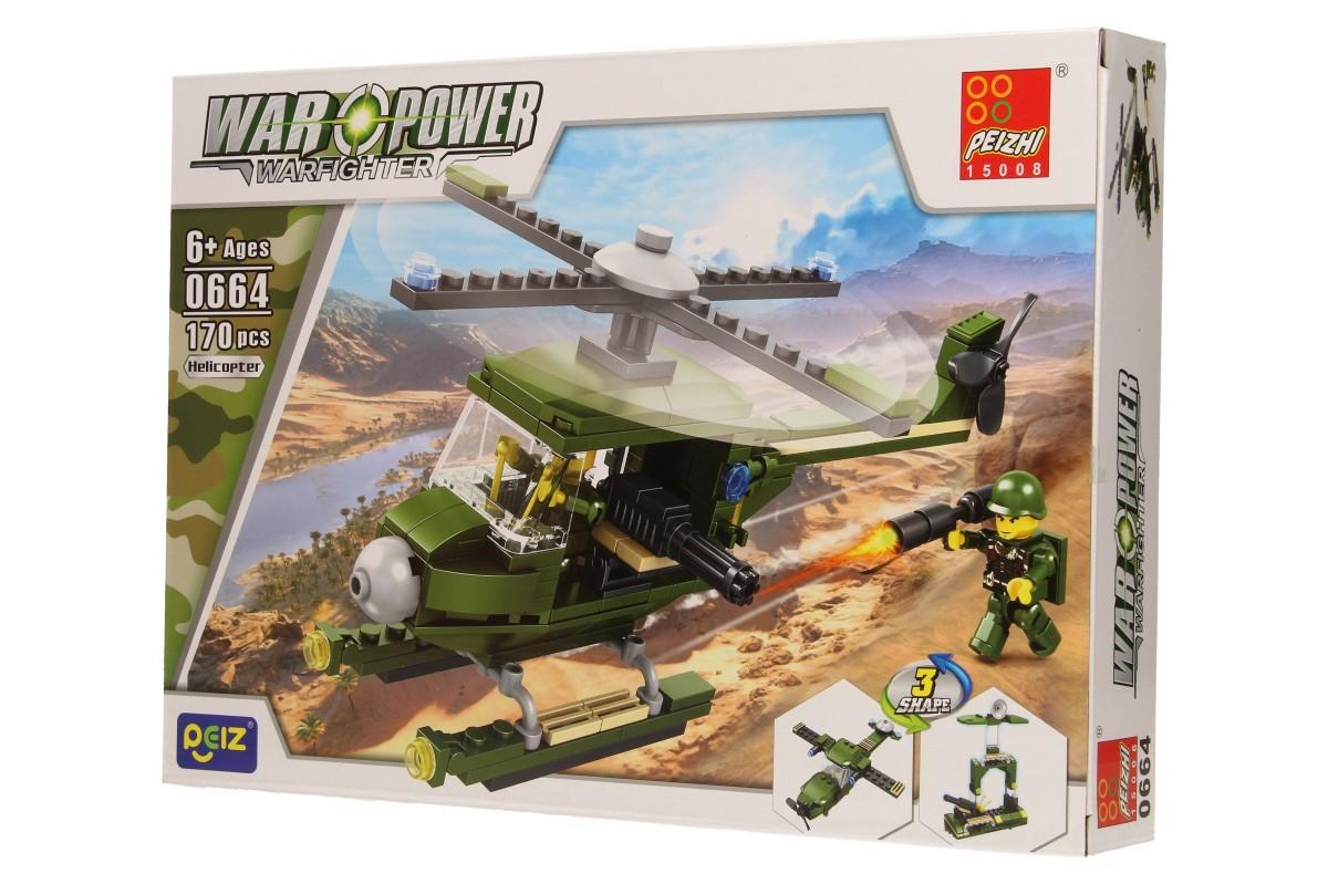 Stavebnice Peizhi War Power 0664