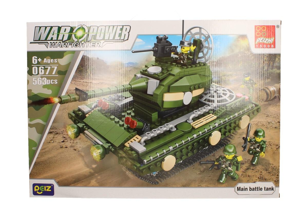 Stavebnice Peizhi War Power 0677