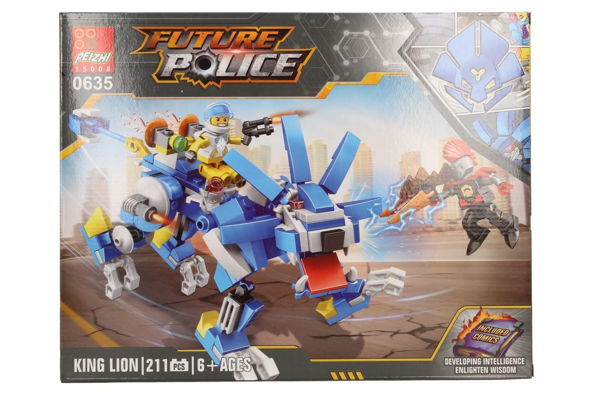 Stavebnice Peizhi Future Police 0635