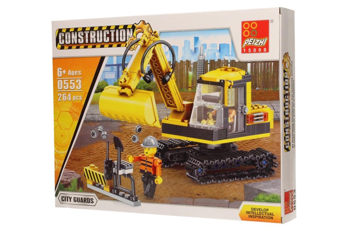 Stavebnice Peizhi Construction 0553