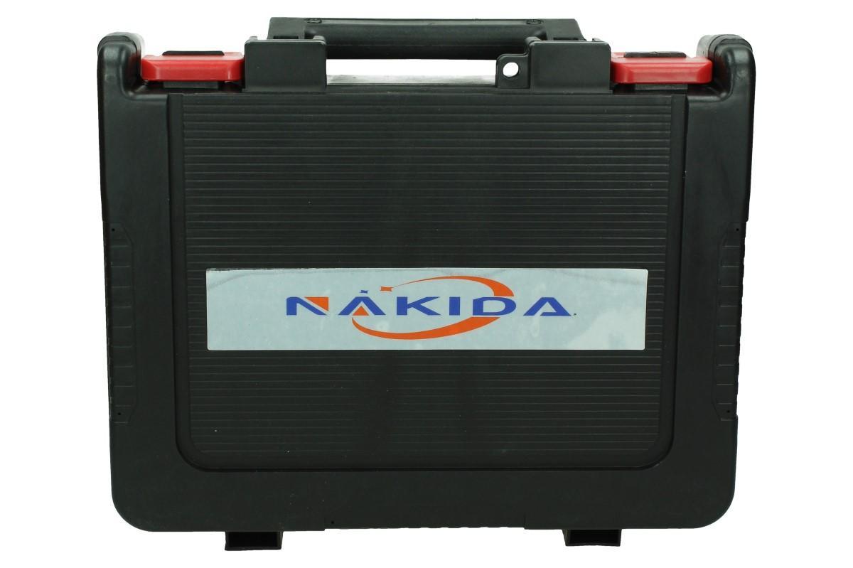 AKU vrtačka NAKIDA včetně 2 ks LI-ION baterií