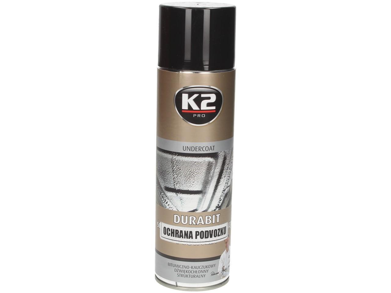 Ochranný asfaltový nástřik na podvozek K2 DURABIT 500 ml