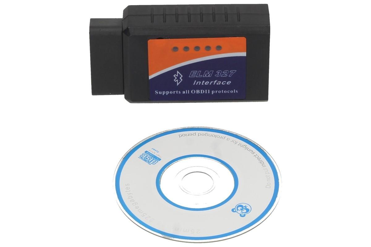 Adaptér ELM 327 OBD II Bluetooth Interface