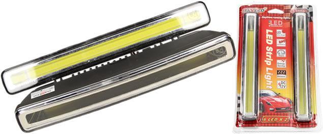 LED světla pro denní svícení Maxeed 12V 4 LED (4w) x 2