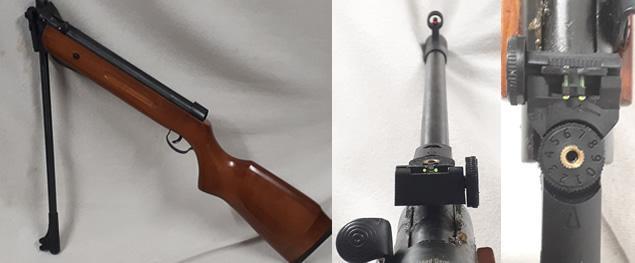 Vzduchová puška Tytan Model B2-4 (ráže 5,5mm)