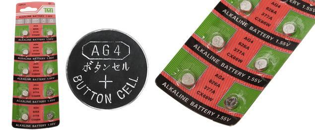 Knoflíková baterie AG3 LR41 L736F 1,5V
