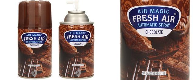 FRESH AIR náplň do automatického osvěžovače vzduchu 260ml - Chocolate