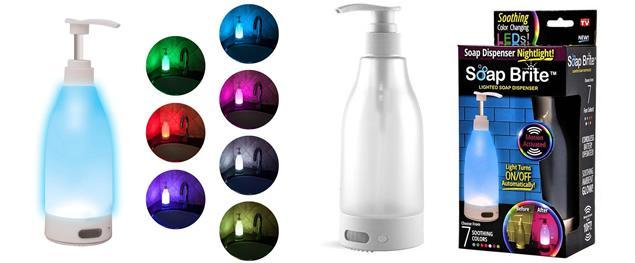LED osvětlení na WC