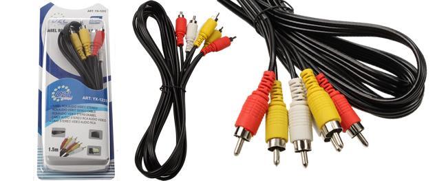 Digitální optický kabel YX-1211 - 1,5m