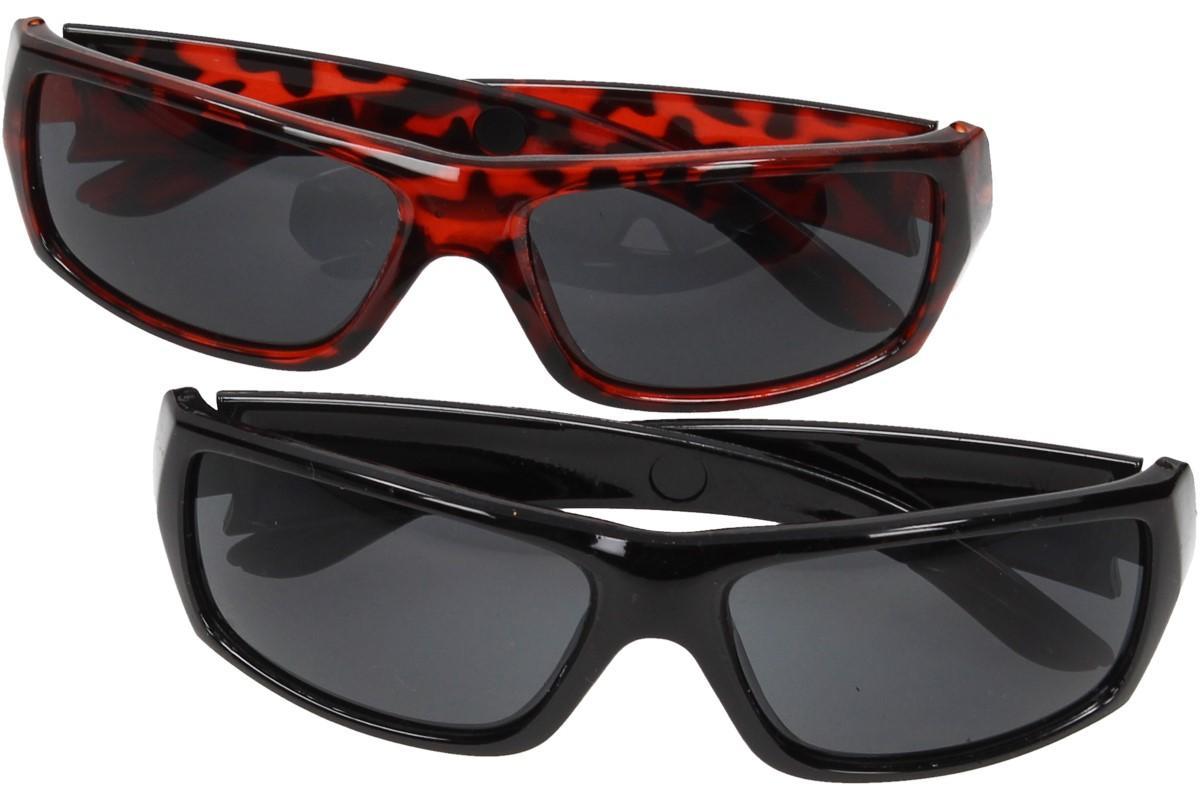 Foto 1 - Polarizační sluneční brýle, sada 2 ks - Krásné a elegantní polarizační sluneční brýle s vysokým UV400 filtrem ochrání Vaše oči od ostrého slunečního svitu.