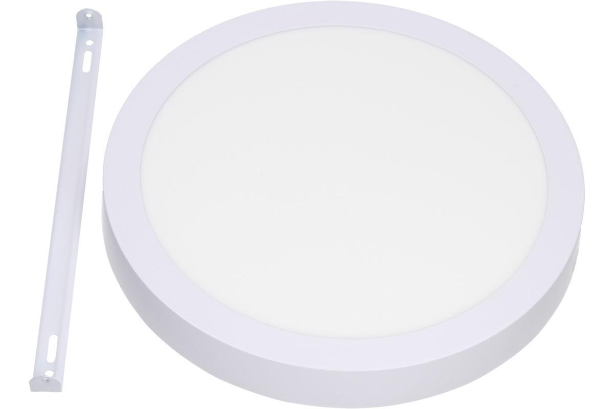 Foto 1 - Stropní panel 24w kulatý nezápustný - Jedná se o nezápustné svítidlo, které se velice snadno nainstaluje na strop tam, kde se nedá použít LED panel zápustný