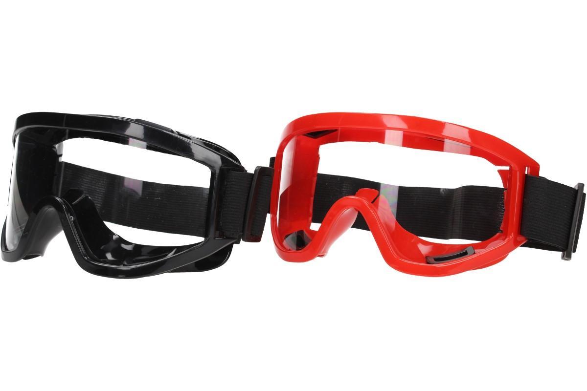 Foto 1 - Ochranné pracovní brýle s gumou - kvalitní a komfortní brýle s čirým sklem, širokým zorným polem a ventilací pro proudění vzduchu dovnitř a vlhkosti ven. Za super cenu jen u nás!