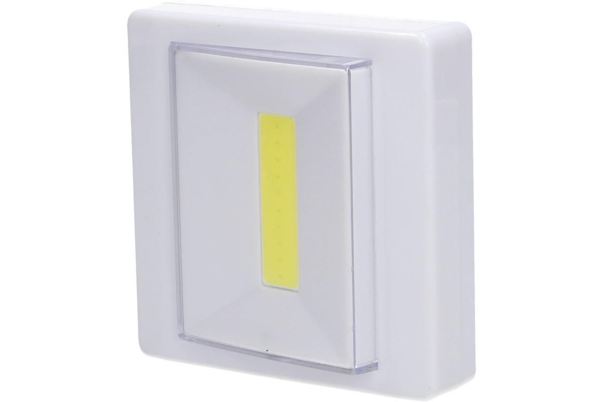 Foto 1 - Výkonné Led světlo hranaté nalepovací - dvě varianty výkonného LED světla s výkonem 160 lumenů rozsvítí každou místnost a vydrží až neuvěřitelných 100000 hodin! Špičková kvalita za dobrou cenu!