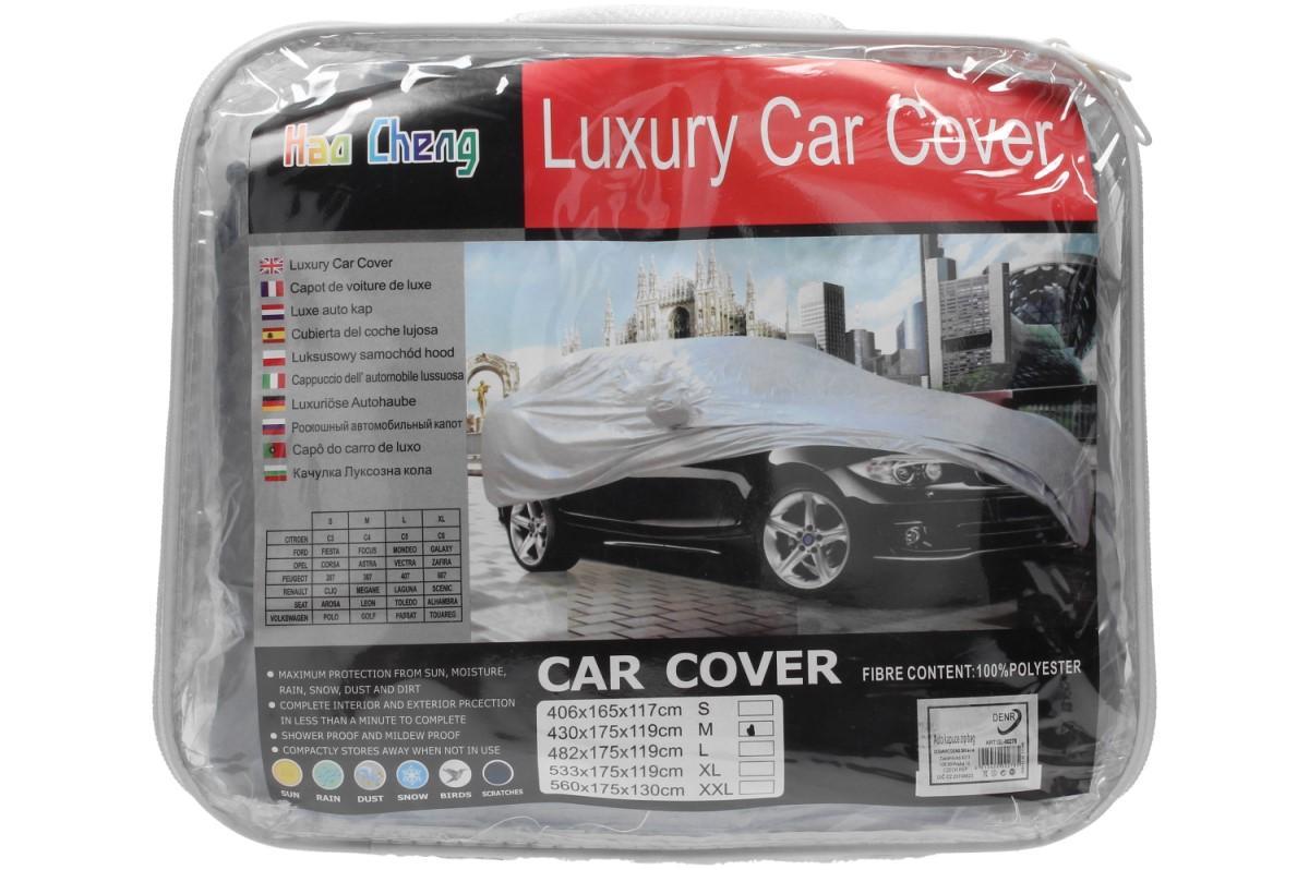 Foto 1 - Krycí plachta na auto z odolného materiálu na přikrytí automobilu, chrání Vaše auto před vlivy počasí po celý rok. V několika velikostech za dobrou cenu!