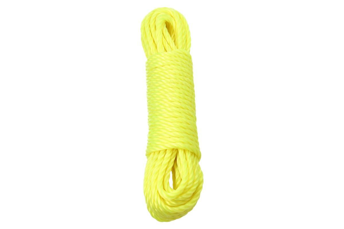 Foto 1 - Šňůra na prádlo 10 metrů - z pevného materiálu, nepouští barvu a udrží mnoho mokrého prádla. KVALITNÍ šňůra na prádlo 5 druhů barev