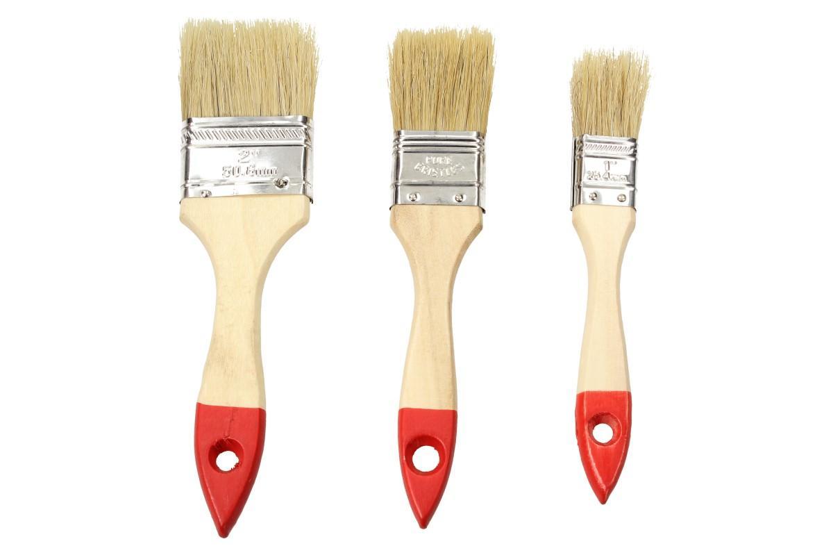Foto 1 - Sada štětců pro malířské účely 3 různé velikosti  25 mm, 38 mm, 50 mm - UNIVERZÁLNÍ POUŽITÍ