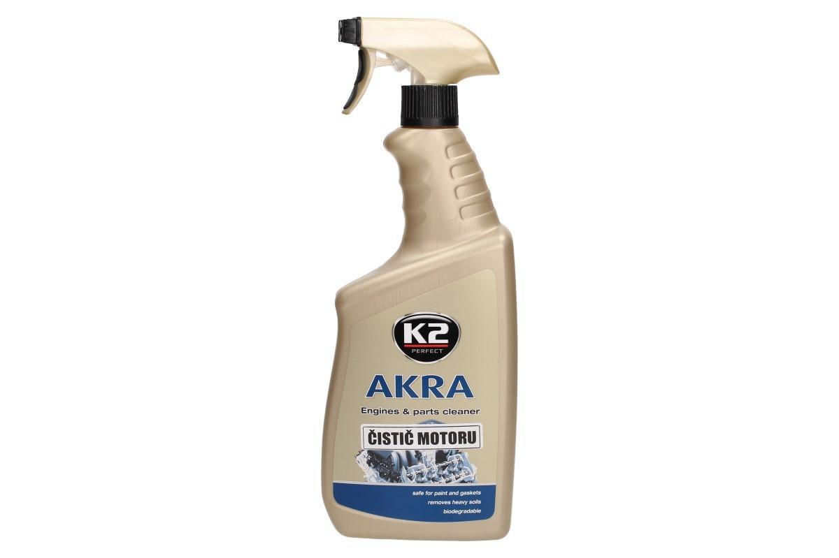 Foto 1 - K2 AKRA 770 ml - čistič motorů je speciální, kvalitní přípravek na čištění motorů a těžce zanesených podlah. Preparát Akra je šetrný vůči životnímu prostředí.