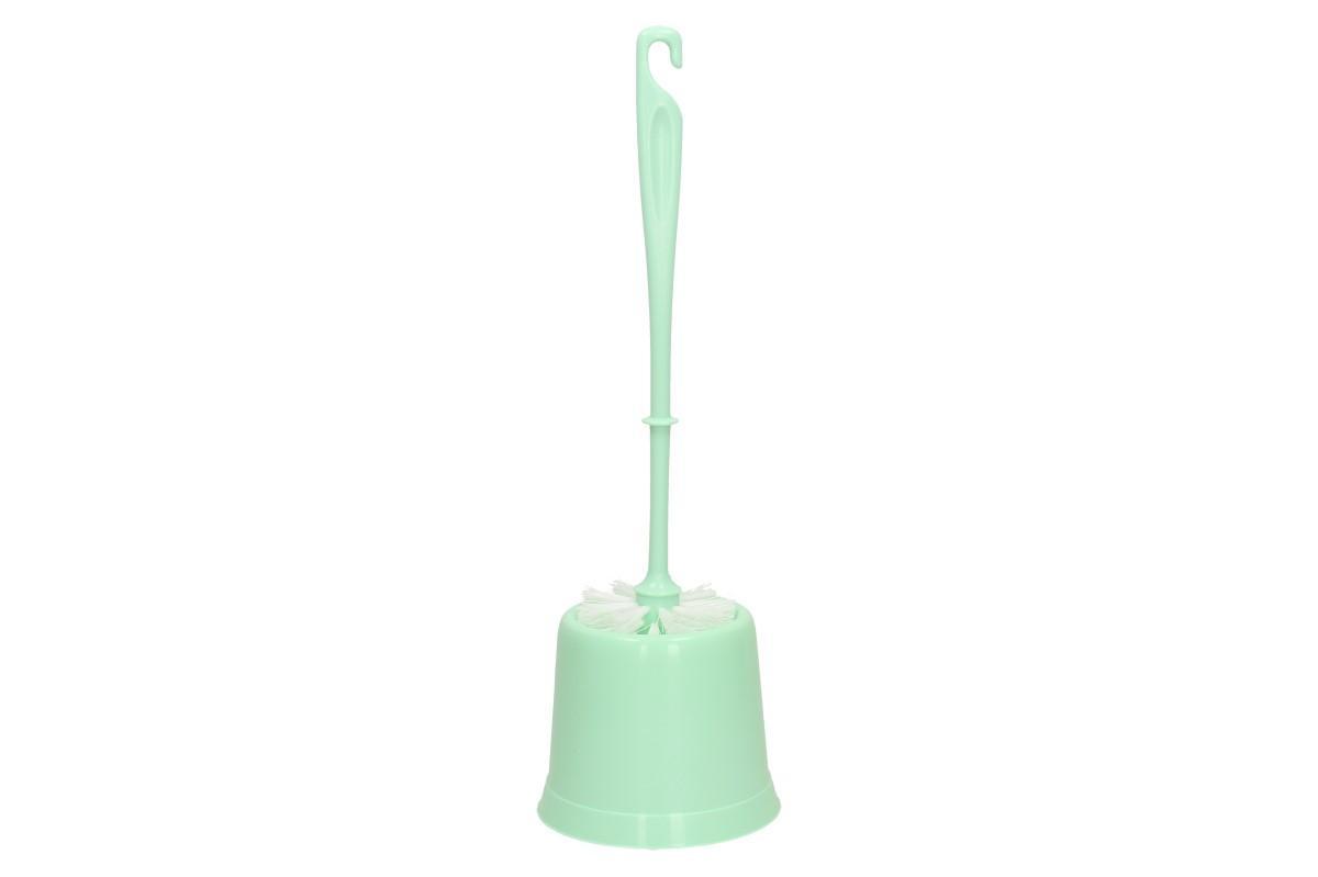 Foto 1 - Sada WC kartáč do záchoda s podstavcem Vybavte si koupelnu podle barvy, která se vám líbí a hodí se do vašeho designu. Barva: bílá, béžová, modrá, zelená, hnědá a šedá.
