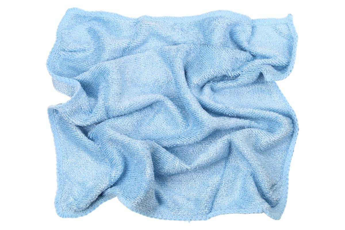 Foto 1 - Švédská utěrka 28x28 cm modrá je skvělá na leštění a stírání prachu z citlivého povrchu. Kvalitní Švédská utěrka z 80ti% supermikrovlákna je ideální na okna, koupelny, karoserii i kožené sedačky.
