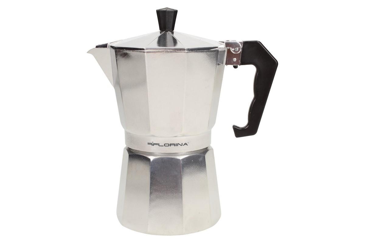 Foto 1 - Kávovar Grande na plotnu kovový vám skvěle a efektivně umožní připravit teplý nápoj se silnou a aromatickou chutí. Jednoduchý a rychlý způsob obsluhy vás překvapí. Poctivá chuť a vůně kávy.