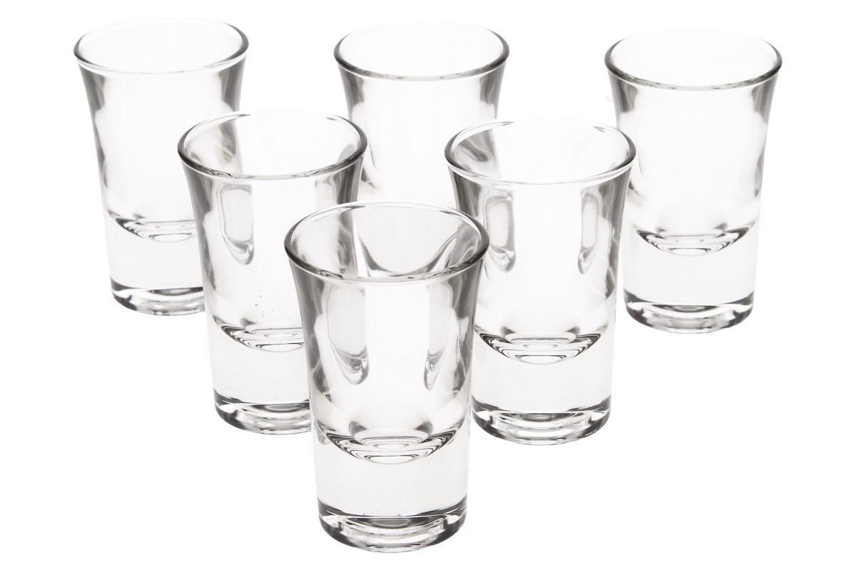 Foto 1 - Dublino sada 6 panáků 34 ml Vyrobeno z pevného, kvalitního skla klasického, kulatého tvaru. Sada párty panáků je vhodná a praktická do každé domácnosti, baru, restaurace i hospody.