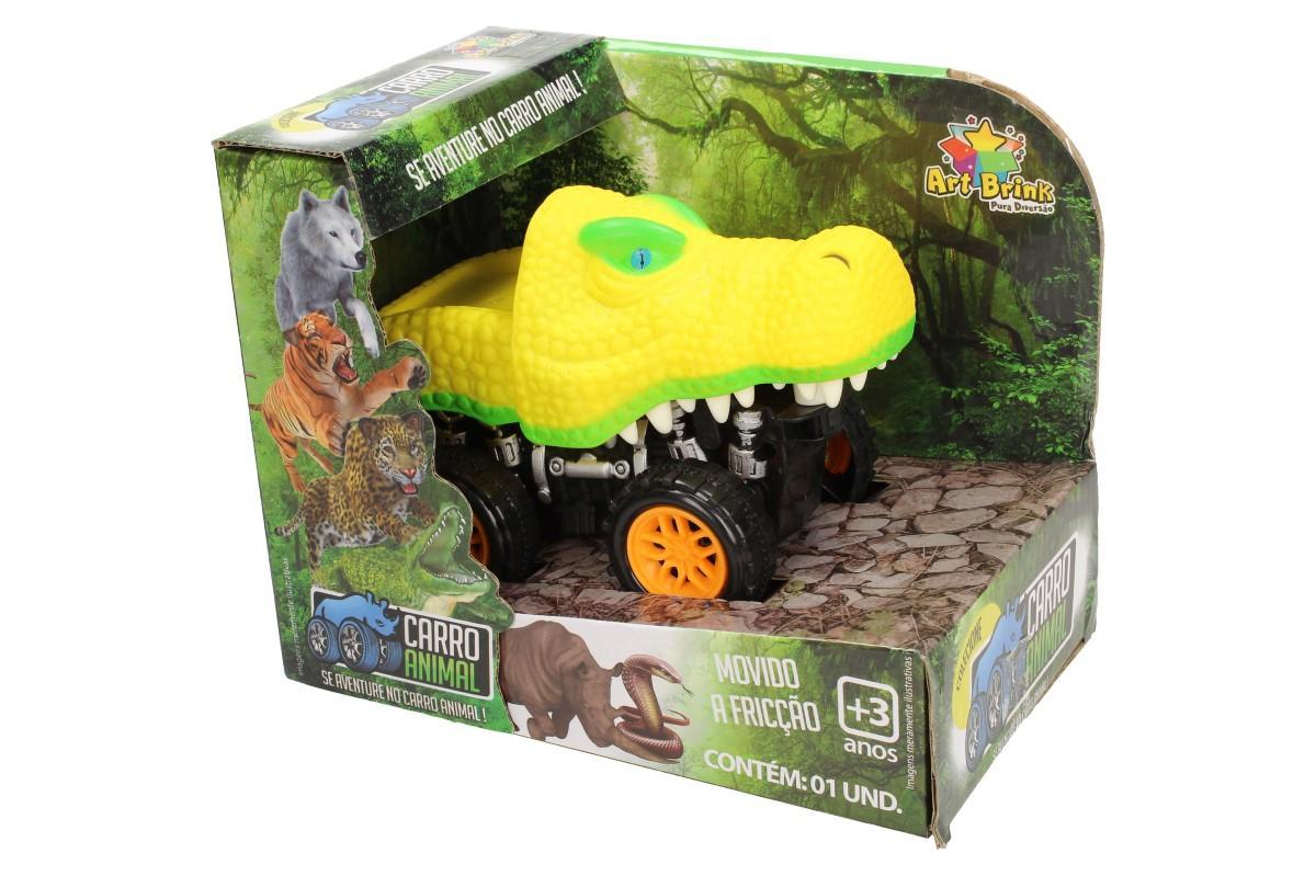Foto 1 - Autíčko na setrvačník Carro Animal Je krásná kolekce autíček v podobě zoologické zahrady. Ideální kombinace hračky pro milovníky zvířat a autíček. Několik druhů zvířátek na výběr.