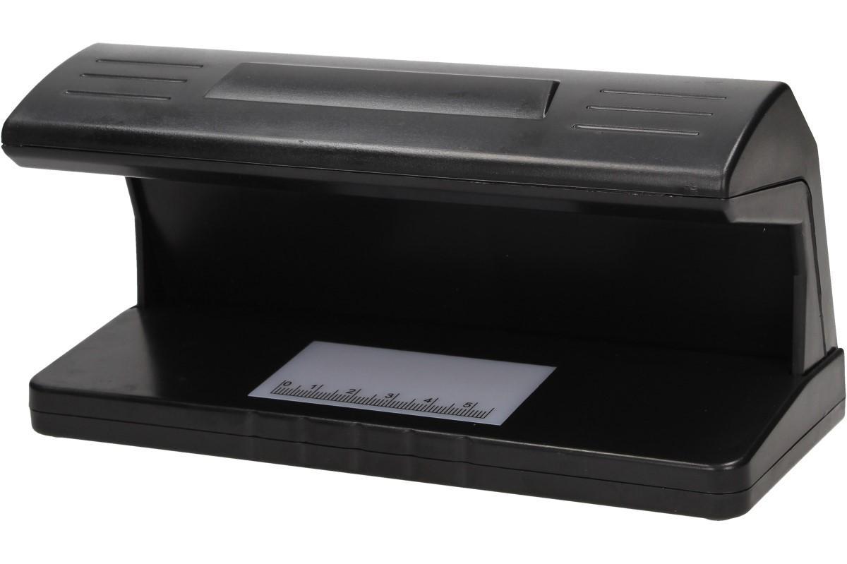 Foto 1 - UV detektor bankovek slouží k ověření pravosti bankovek, kreditních karet, řidičských průkazů a občanských průkazů na základě kontroly UV světla. Detektor ověřuje všechny světové měny.