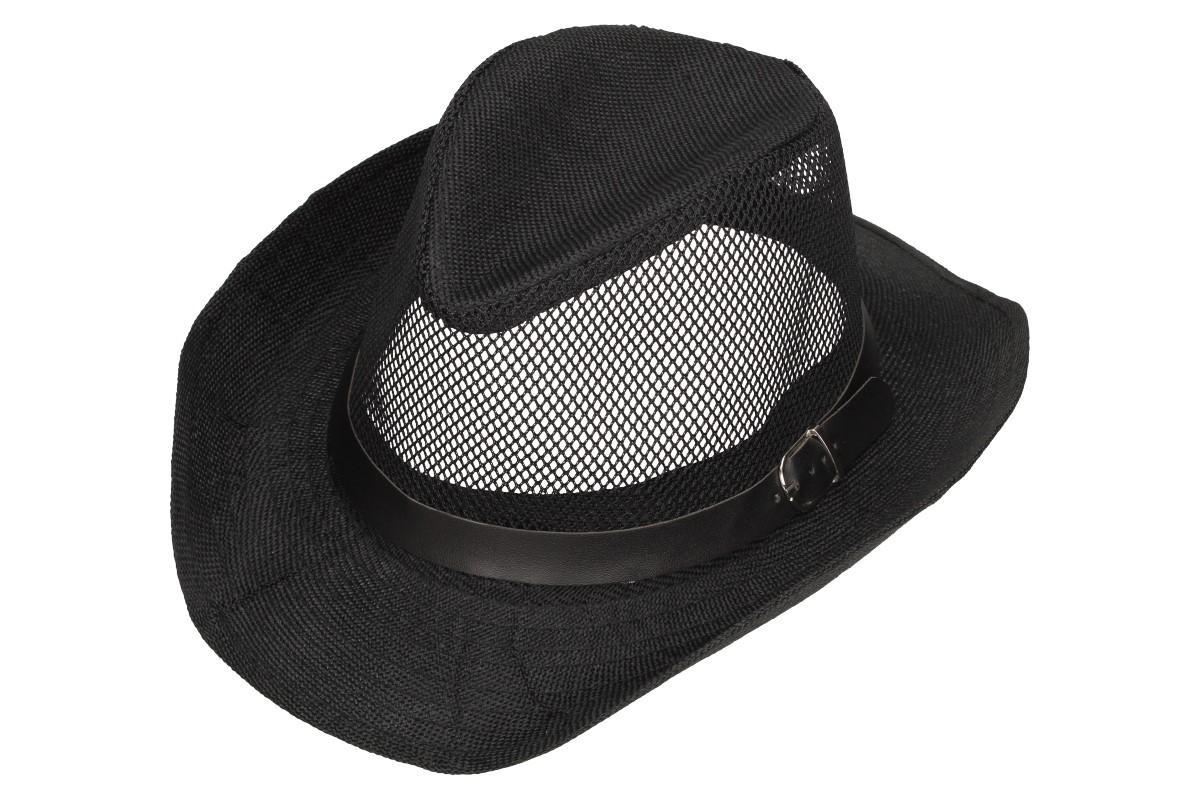 Foto 1 - Letní klobouk s děrováním a páskem je skvělým doplňkem pro dámy i pro pány. Je velmi praktický při horkých letních dnech, kdy slouží jako ochrana hlavy před silným sluncem.