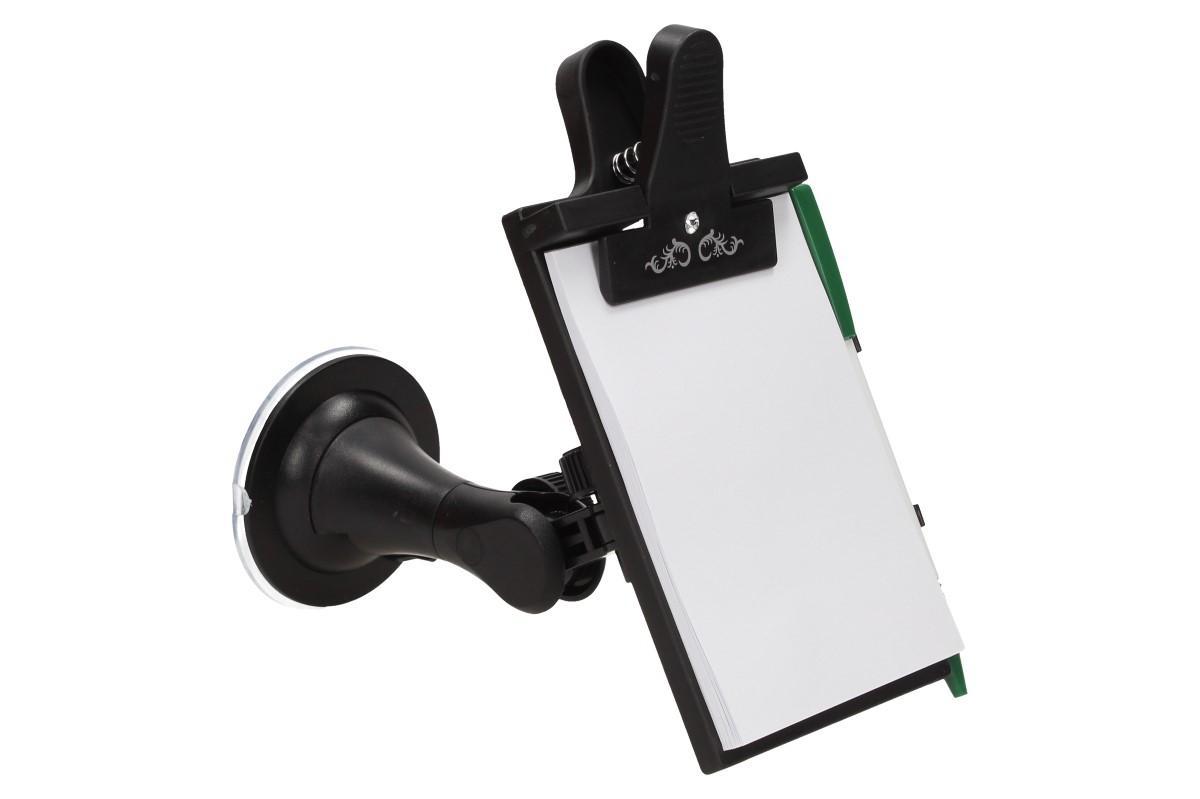 Foto 1 - Papírový tablet na přední sklo Vašeho auta - Kdo by neznal zápisník s klipsnou na přední okno do auta a jeho výhody? Klasika, která v autě nesmí chybět