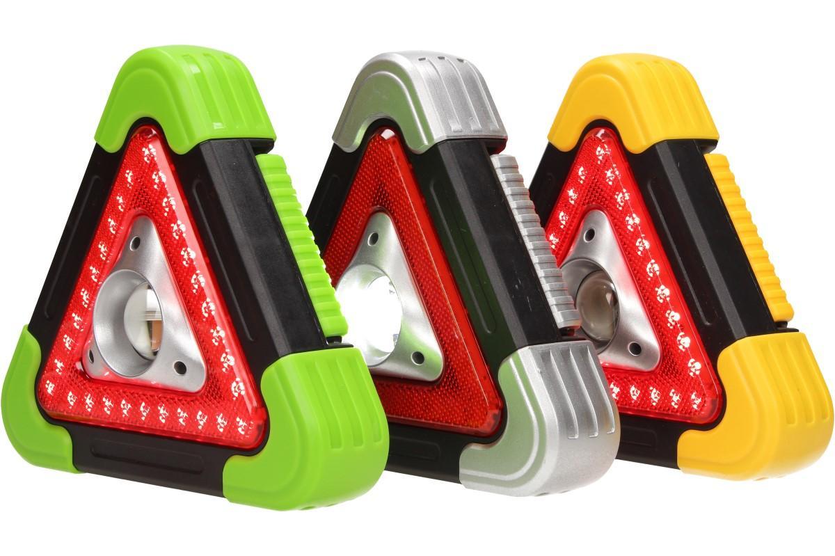 Foto 1 - Multifunkční pracovní světlo trojuhleník 3v1 - geniální pomocník má několik funkcí a několik možností nabíjení. Ideální do auta, na rybaření, do dílny či pro práci venku